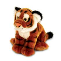 Tigre Peluche - Keel Toys 33cm Acostado La Fauna Del Gato Gr
