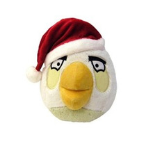 Angry Birds 5 Limited Christmas Edition Peluche - White Bir