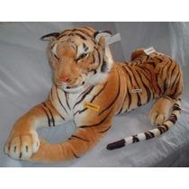 Tigre De Bengala Gigante 1.70m -hermoso- Casi Real