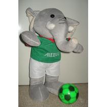 Elefante Peluche Con Uniforme Selección De México