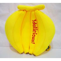 Bananas D Peluche Antiestrés Platano Racimo Amarillo Kawaii
