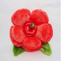 Flores De Peluche Rosas Roja Con Su Abejita