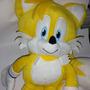 Excelente Peluche Mochila De Tails (sonic The Hedgehog)