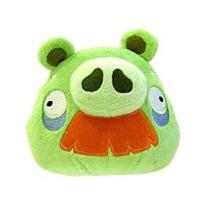 Angry Birds 8 Pulgadas Deluxe Peluche Abuelo Cerdo Con Bigot