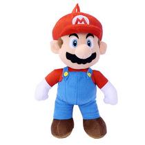Super Mario Brothers Nintendo Morral De La Felpa - Mario