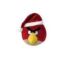 Angry Birds 5 Limited Christmas Edition Peluche - Red Bird