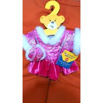 Build A Bear Workshop - Vestido De Invierno Nuevo C/orejeras