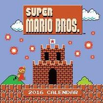 Super Mario Brothers 2016 Calendario De Pared