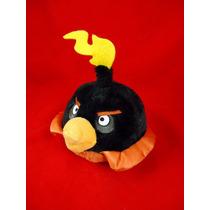 Black Bird De Angry Birds Peluche De Colección