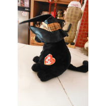 Peluche Halloween Black Cat Merlin Ty Beanie Babies Gato