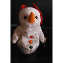 Peluche Hombre De Nieve Chillin Snowmen Ty Beanie Babies