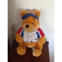 Winnie Pooh 30 Cm Edición Especial Del 4 De Julio Disney Sto