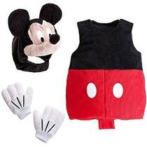 Disney Store Deluxe Mickey Mouse De La Felpa De Vestuario Pa