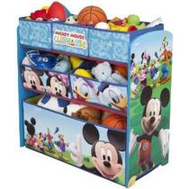 Disney Multi Bin Toy Organizador De Mickey Mouse