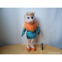 Peluche Miss Piggy Vestido De Gala Peggy Muppets Mp13