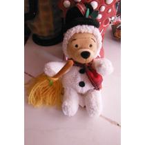 Peluche Walt Disney Winnie The Pooh Edicion Snowman Navidad