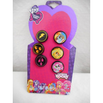 Aretes My Little Pony Mi Pequeño Pony! Tres Pares