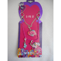 Collar Pinkie Pie Con Dijes My Little Pony Mi Pequeño Pony