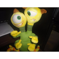 Peluche Original Con Sello Disney Store Personaje Monster In
