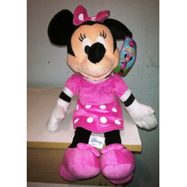 Minnie Mimi Mouse Peluche Disney Original 35 Cm
