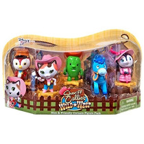 Disney Junior Paquete Con 5 Figuritas De Sheriff Callie 7 Cm