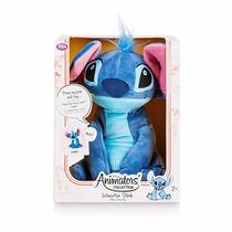 Stitch Habla Animator Disney Store Juguete Peluche Importado
