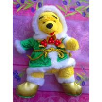 Pooh Peluche Vestido De Navidad Y Musical