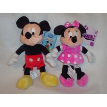 Mickey Y Minnie De La Casa De Mickey De 27 Cms