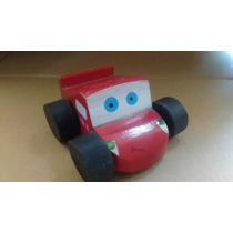 Cars Rayo Mcqueen 6 Cm Madera