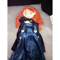 Peluche Valiente Disney Store Princesa Merida Grande 55 Cms