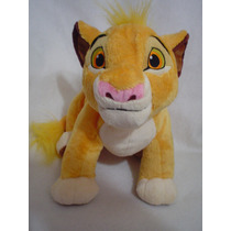 Simba Rey Leon Disney Colletion 50cms Largo Original Unico