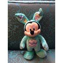 Mickey Mouse Conejo De Pascua Peluche Disney Store Exclusivo