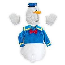 Disney Store Pato Donald Deluxe Felpa Traje De Halloween Tal
