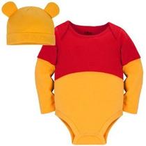 Disney Baby-boys Tienda Winnie Pooh Vestuario Onesie Con Som