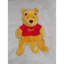 Winnie Pooh, Peluche Que También Es Bolsa, 38cm!! Wp6