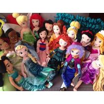 Princesas De Peluche De Disney Store Precio C/u 50cm
