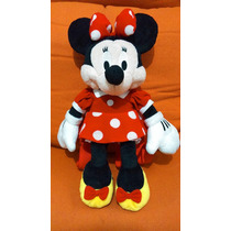Disney Mochila Peluche Minnie Mouse Mimí Original Como Nueva