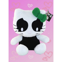 Hello Kitty Kiss Catman Grande Peluche Sanrio 30cm
