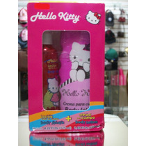 Lote 2 Pzas Body Splash 1 Crema Corporal Hello Kitty Sanrio