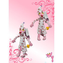 Pantera Rosa Con Pijama Peluche 66 Cm