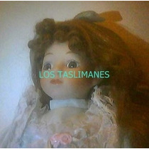 Muñeca De Porcelana De Coleccion