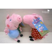 Peluches Peppa Pig George 2 Peluches 18 Cm Peluche