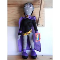 Dc Comic The Teen Titans Raven Muñeco De Peluche 53cm