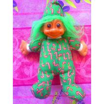 Troll De Peluche Vestido Con Pijama De Caramelos
