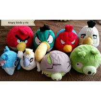 Angry Birds Y Rio Peluches Para Coleccion