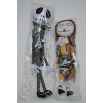 Jack Y Sally Peluches The Nightmare Before Christmas Disney