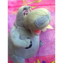 Madagascar Hipopotama De Peluche De Cine