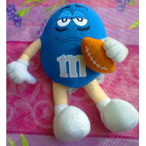 Mym Chocolate Azul Futbol Americano De Peluche