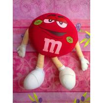 Mym Chocolate Rojo De Peluche Pintado De Besos