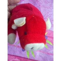 Beanie Babies Ty Peluche De Toro Rojo
